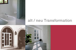 alt / neu Transformation